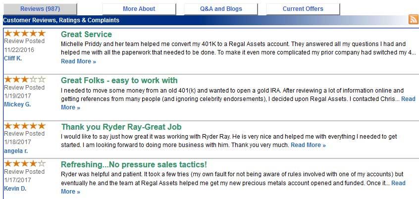 Regal-TrustlinkReviews27.01.17