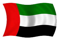 flag of Dubai, UAE