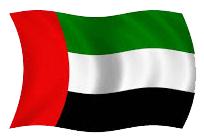 flag of Dubai, UAE