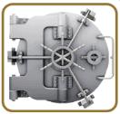 secure vault