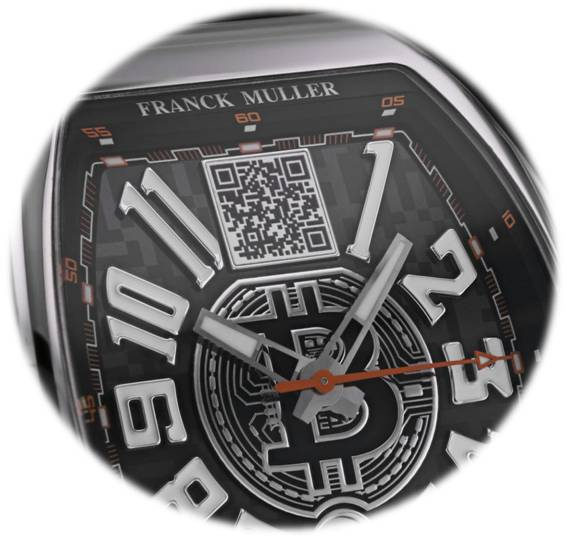 Franck Muller Encrypto watch