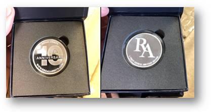 Regal Assets Anniversary Coin