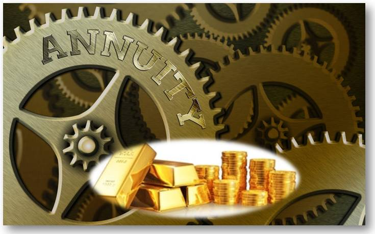 investing in gold through an annuity